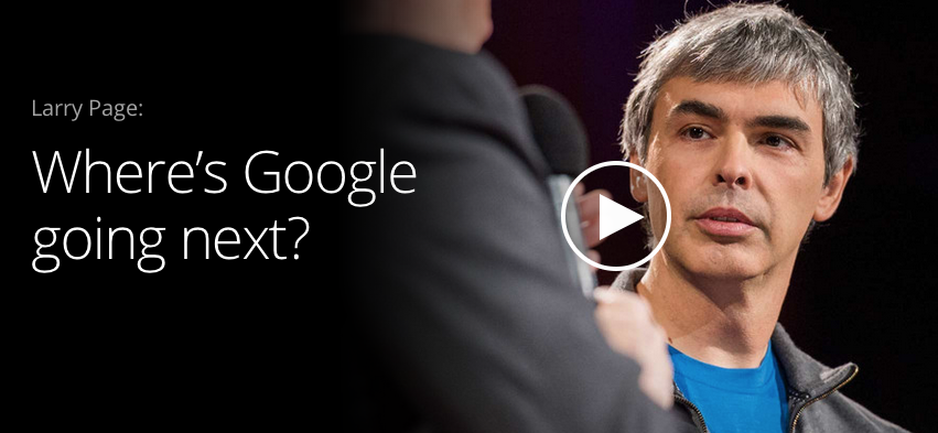 Larry Page at TED