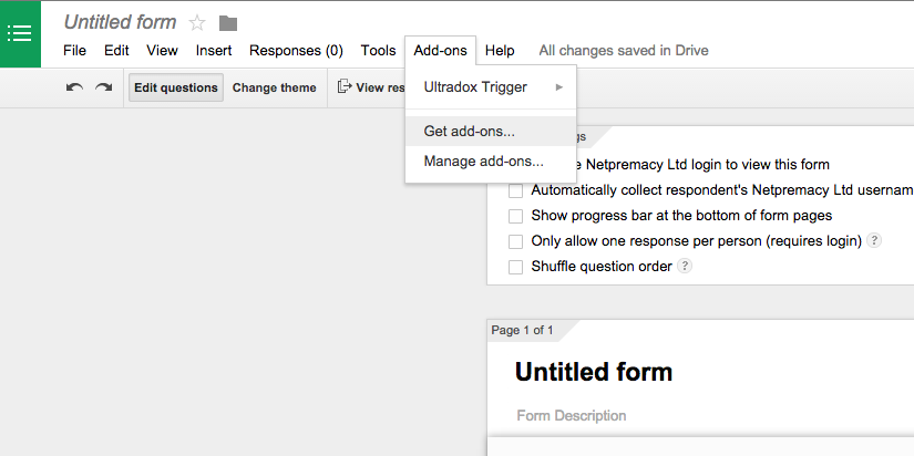 Google Apps Tips - Google Forms Add-ons