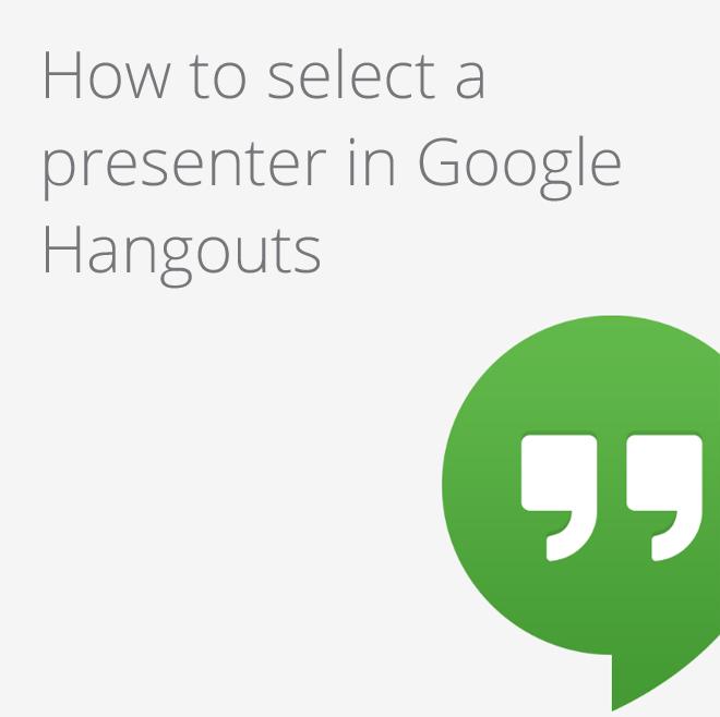 Google Apps Tips: Google Hangouts