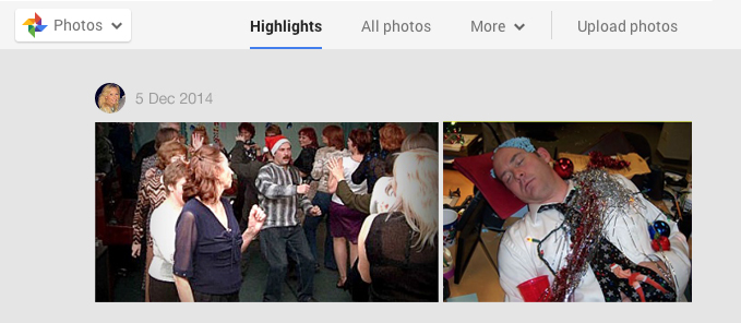 Google+ Christmas Photos