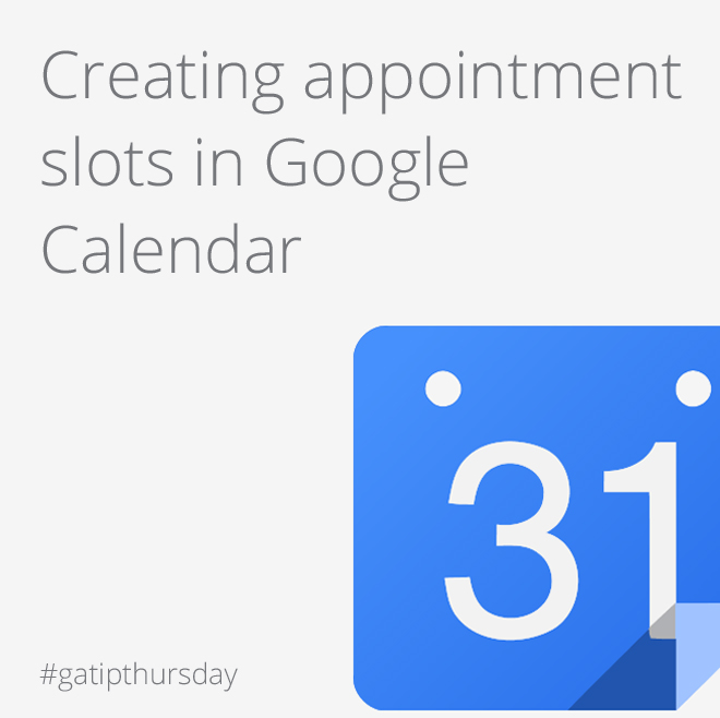 google-calendar-appointment-slots