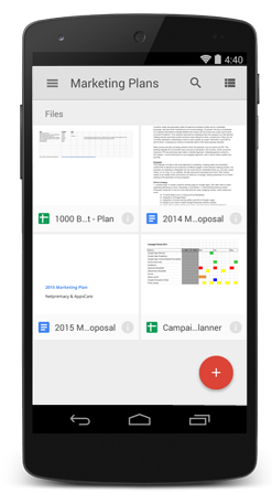 Google Drive on Android
