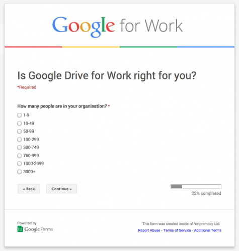 how to create survey on google forms
