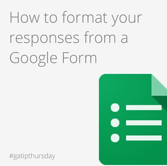 Google Apps Tips: Google Forms
